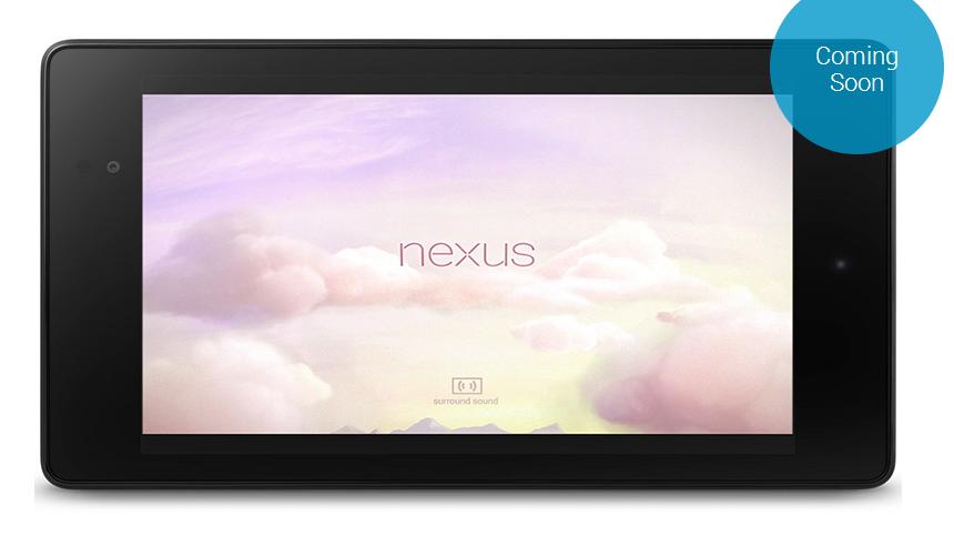Nexus 7 coming soon to India