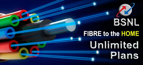 Latest BSNL Fibre Unlimited Broadband Plans FTTH