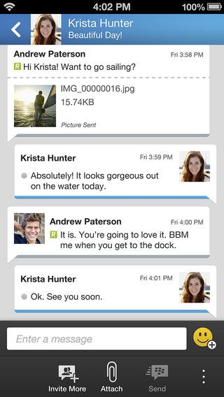 BlackBerry Messenger Download