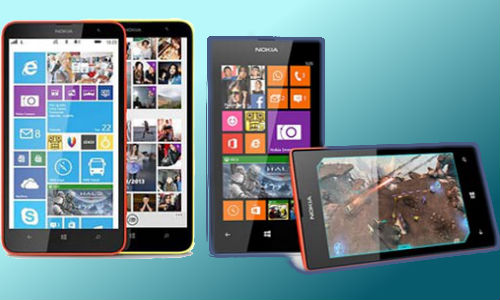 Nokia Lumia 1320 and Nokia Lumia 525