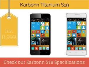 Karbonn Titanium S19