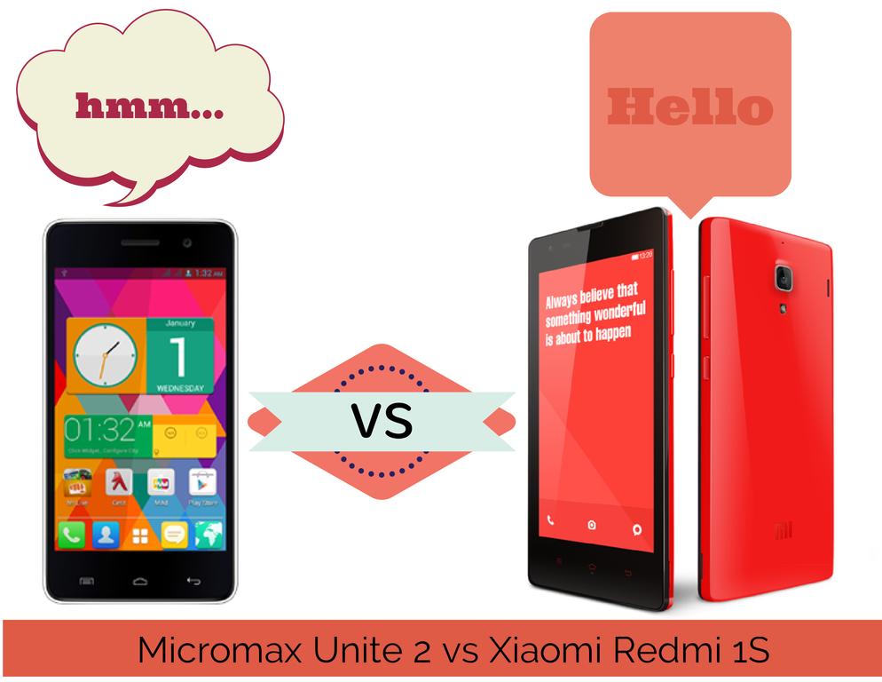 Micromax Unite 2 vs Xiaomi Redmi 1S