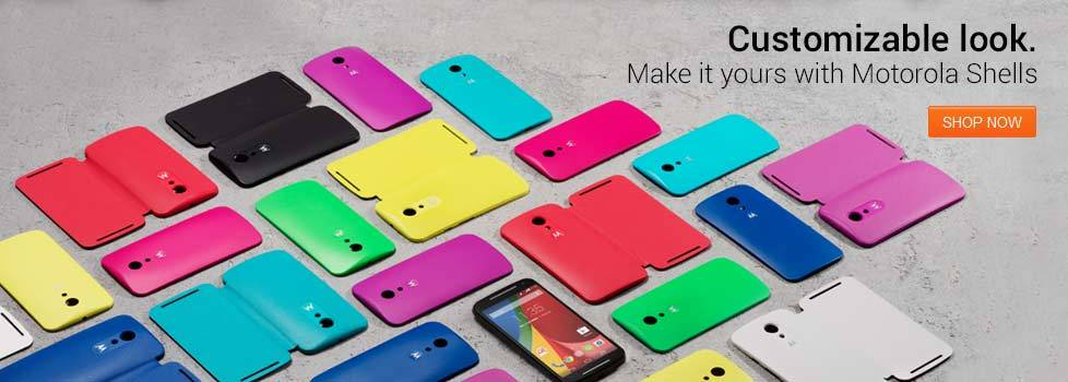 Motorola Moto G (2nd Gen.) Back Panels