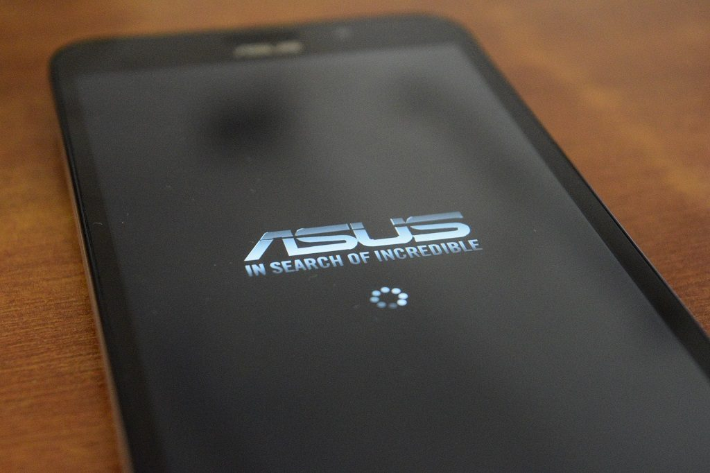 Asus Bootup