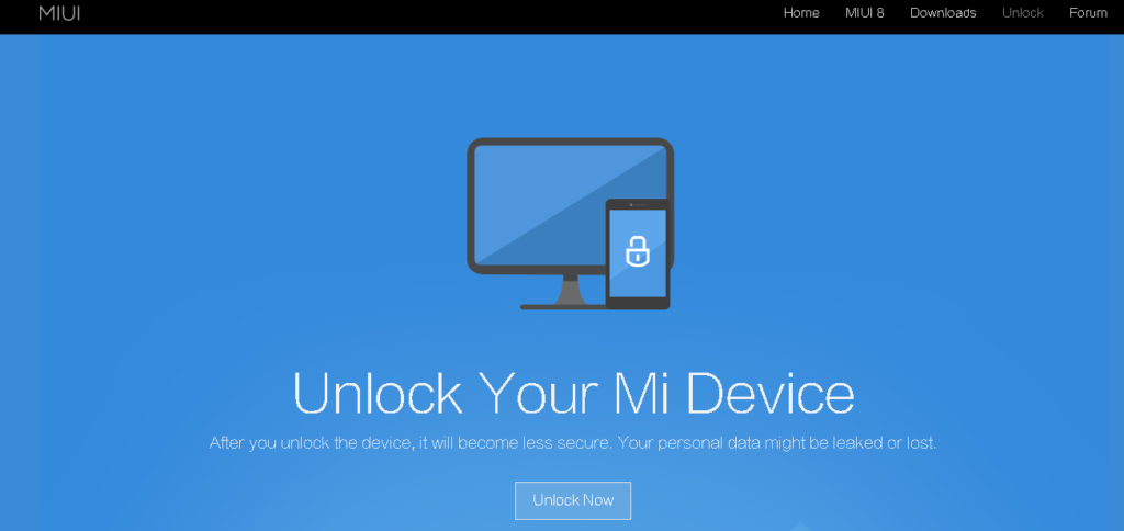 Unlock Bootloader Xiaomi Mi Mobile Phone