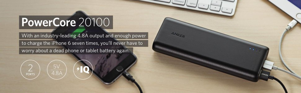 Anker Power Core Power Bank 20,100mAh
