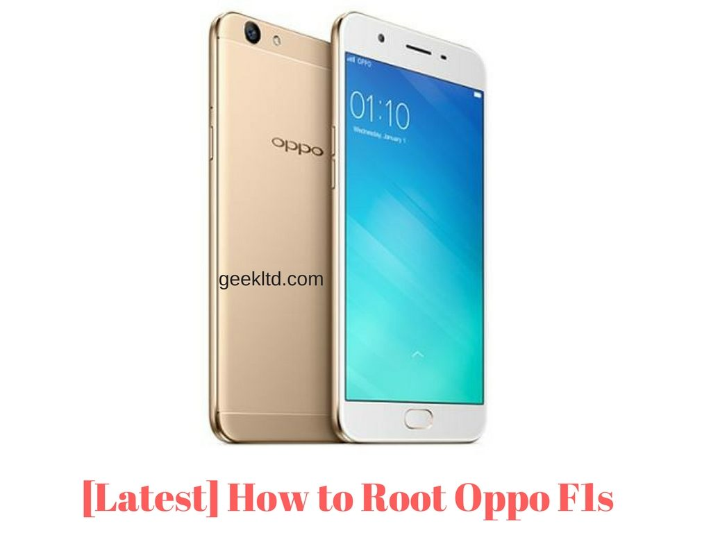 [100% Working 2019] How to Root Oppo F1s A1601 1