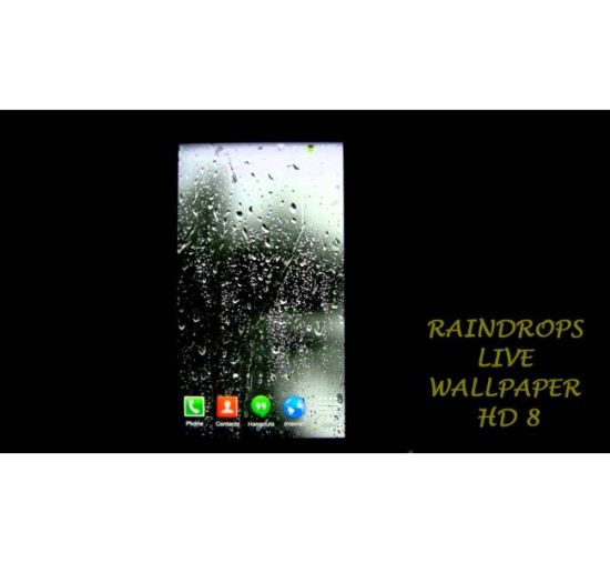 Raindrops Live Wallpaper HD 8 Oppo Vivo Xiaomi