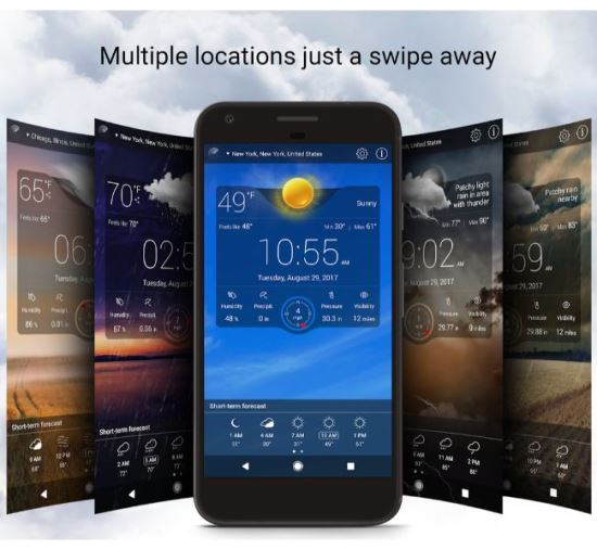 Weather Live Free Wallpaper Download Android APK