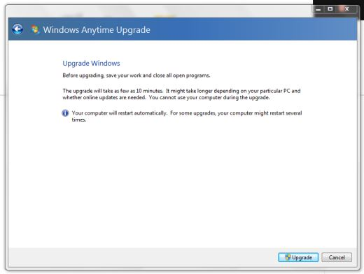 Free Anytime Windows 7 Upgrade Keygen