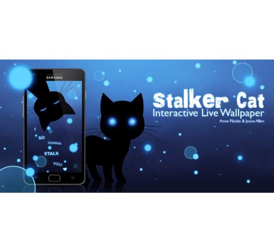Stalker Cat Live Wallpaper Free Motorola LG