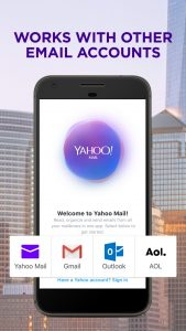 Compact Inbox, Stay Organized - Yahoo Mail Go 1