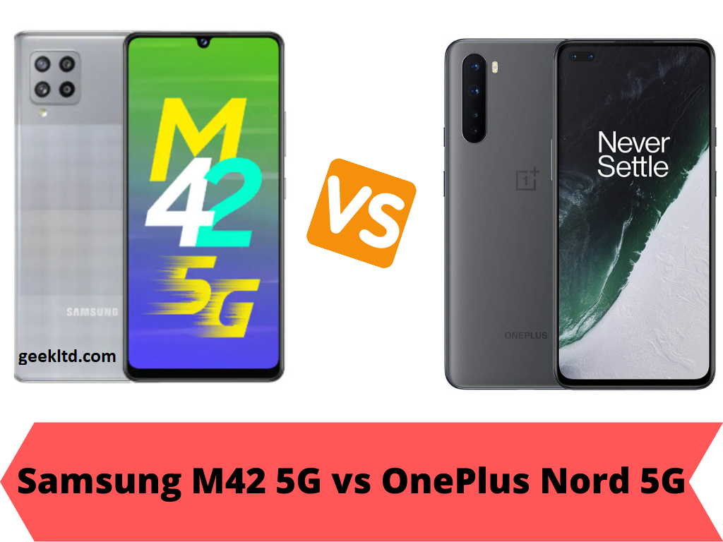 Samsung M42 5G vs OnePlus Nord 5G – Compare Specs and  Price in India